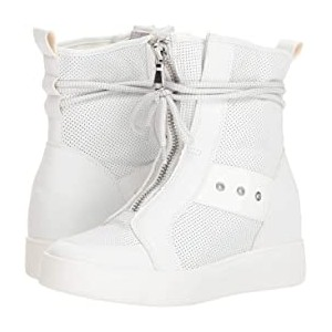 Anton Wedge Sneaker White Leather