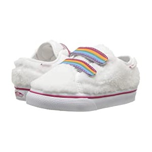 Style 23 V (Infant/Toddler) (Shearling Rainbow) True White