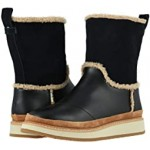 Makenna Black Leather/Suede