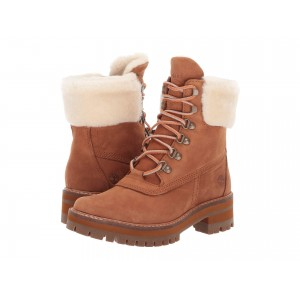 Courmayeur Valley 6 Boot with Authentic Shearling Lining Rust Nubuck