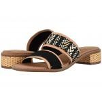 Mariposa Black Suede/Geometric Woven
