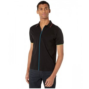 PS Polo with Multicolor Piping