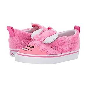 Slip-On V (Toddler) (Little Monsters) Carmine Rose/Strawberry Pink