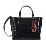 Perry Embossed Small Triple Compartment Tote
