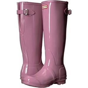 Original Back Adjustable Gloss Rain Boots Blossom