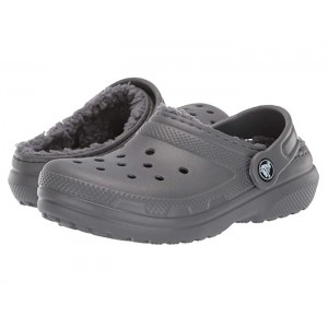 Classic Lined Clog (Toddler/Little Kid) Slate Grey/Smoke