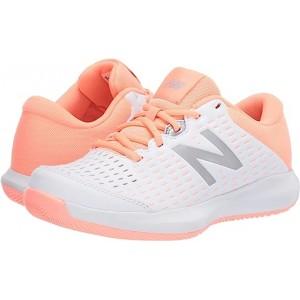 New Balance 696v4 White/Ginger Pink