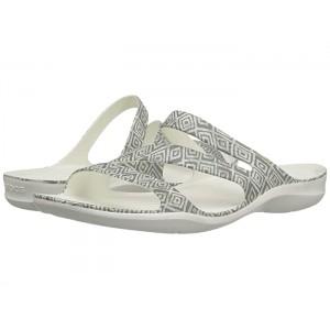 Swiftwater Graphic Sandal Grey Diamond/White