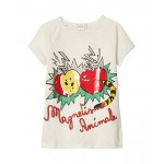 Cotton Jersey w/ Apple Print T-Shirt (Little Kids/Big Kids)