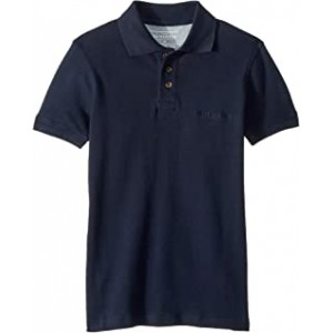 Tori Pass Polo (Big Kids) Navy Blazer