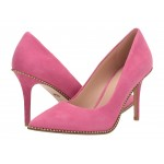 85 mm Waverly Pump with Beadchain Bright Tulip Suede