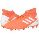 Predator 19.3 FG Hi-Res Coral/Footwear White/Glow Pink