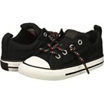 Chuck Taylor All Star Street - Slip (Infant/Toddler) Black/Enamel Red/White