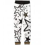 Dolce & Gabbana Kids Pantalone Trousers (Big Kids) Stelle Fdo Panna