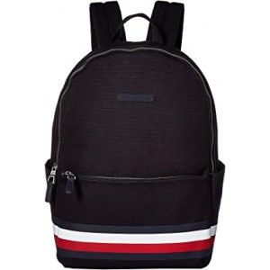 Stephan Corporate Stripe Canvas Backpack Tommy Navy