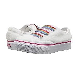 Style 23 V (Little Kid/Big Kid) (Shearling Rainbow) True White