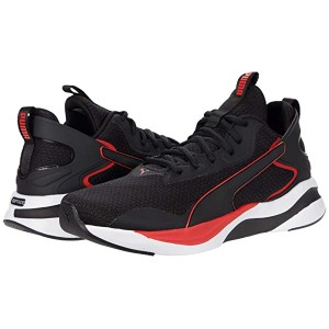 PUMA Softride Rift Tech Puma Black/High Risk Red
