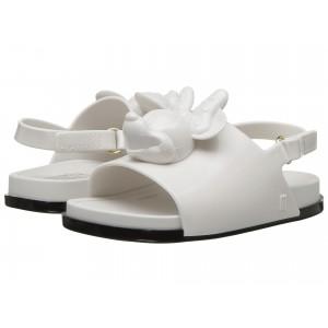 Mini Beach Slide Sandal + Disney (Toddler/Little Kid) White/Black