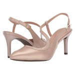 Total Motion 75mm Pointy Toe Ankle Strap Neutral Beige