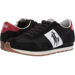 Train 90-PP Black/Red Suede