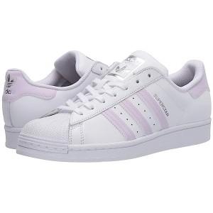 adidas Superstar W Footwear White/Purple Tint/Silver Metallic