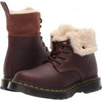 Dr. Martens 1460 Kolbert Wintergrip Dark Brown Snowplow Waterproof/Mustang Waxy Suede
