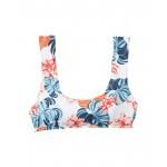 Roxy Print Beach Classics Swim Bralette Bright White Standard