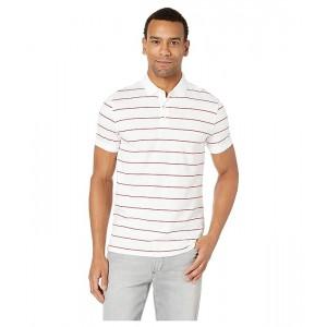 Short Sleeve Striped Polo
