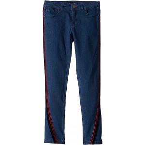 Velvet Trimmed Skinny Jeans in Madison Wash (Little Kids/Big Kids) Madison Wash