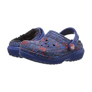 Classic Lined Clog (Toddler/Little Kid) Blue Jean/Navy