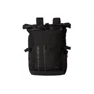 Utility Rolled Up Backpack Blackout