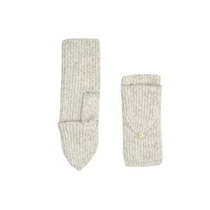 UGG Cozy Knit Flip Mitten Light Grey