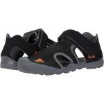 adidas Outdoor Kids Captain Toey (Little Kidu002FBig Kid) Black/Orange/Grey Five