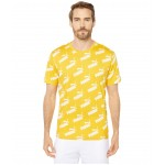 Amplified All Over Print Tee Golden Rod