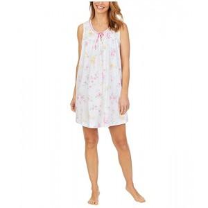 Soft Jersey Sleeveless Short Gown