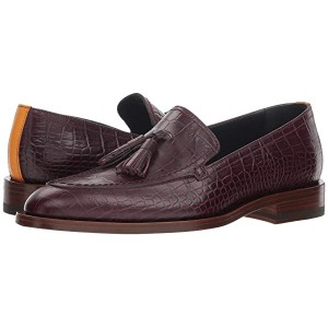 Alexis Croc Embossed Loafer