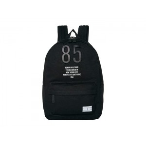 Hilfiger Canvas Backpack Black