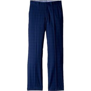 Stretch Shadow Plaid Pants (Big Kids) Midnight
