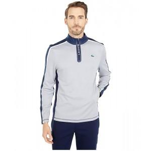 Long Sleeve Color-Block Sleeve and Shoulder Sweatshirt