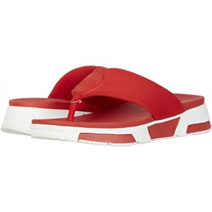 FitFlop Sporty Logo Toe-Thong Red