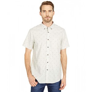 All Day Jacquard Short Sleeve Woven