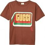 Cotton Jersey w/ Gucci Print T-Shirt (Little Kids/Big Kids)