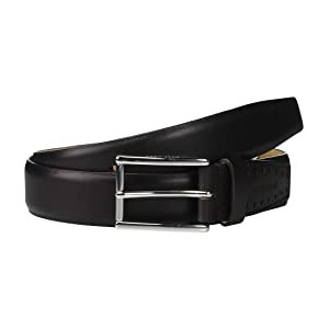 32 mm High Shine Smooth Leather Belt