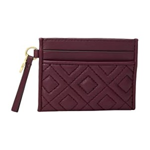 Fleming Slim Card Case Imperial Garnet