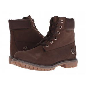 6 Premium Waterproof Boot Dark Brown Nubuck