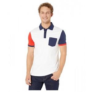 Short Sleeve Color Blocked Polo