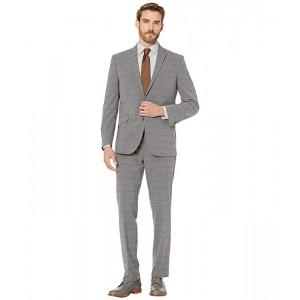 Graph Plaid Slim Fit Stretch Performance Suit