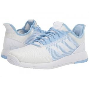 adizero Defiant Bounce 2 Footwear White/Footwear White/Glow Blue