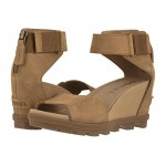 Joanie II Ankle Strap Camel Brown Full Grain Leather