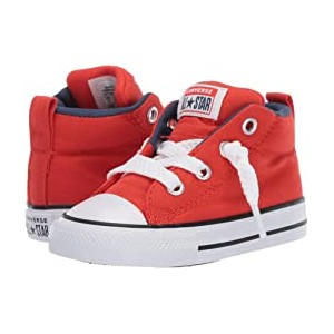 Chuck Taylor All-Star Street Moon Seasons - Mid (Infant/Toddler) Habanero Red/Navy/White